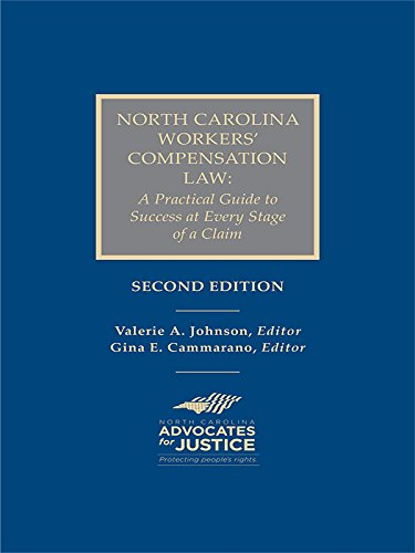 NC Workers' Compensation Law Guide, 3rd Edition